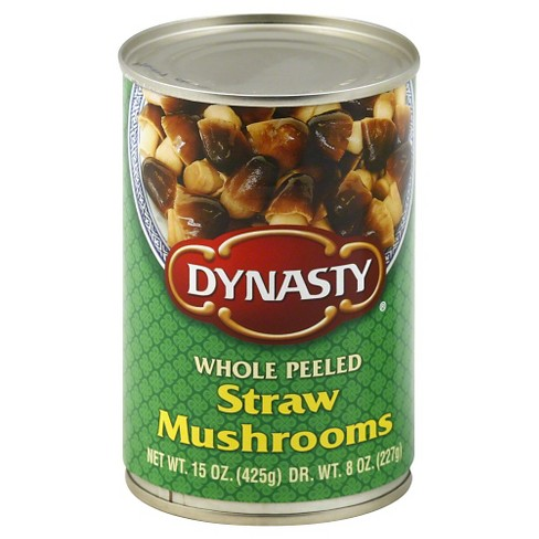Dynasty Whole Peeled Straw Mushrooms 15 oz - image 1 of 1