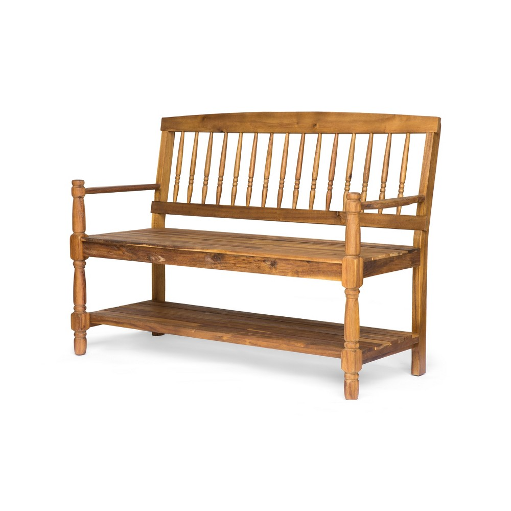 Imperial Acacia Bench - Teak (Brown) - Christopher Knight Home