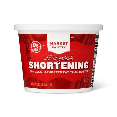 All-Vegetable Shortening - 16oz - Market Pantry™