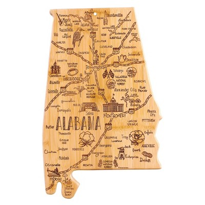 Totally Bamboo Destination Alabama Serving and Cutting Board