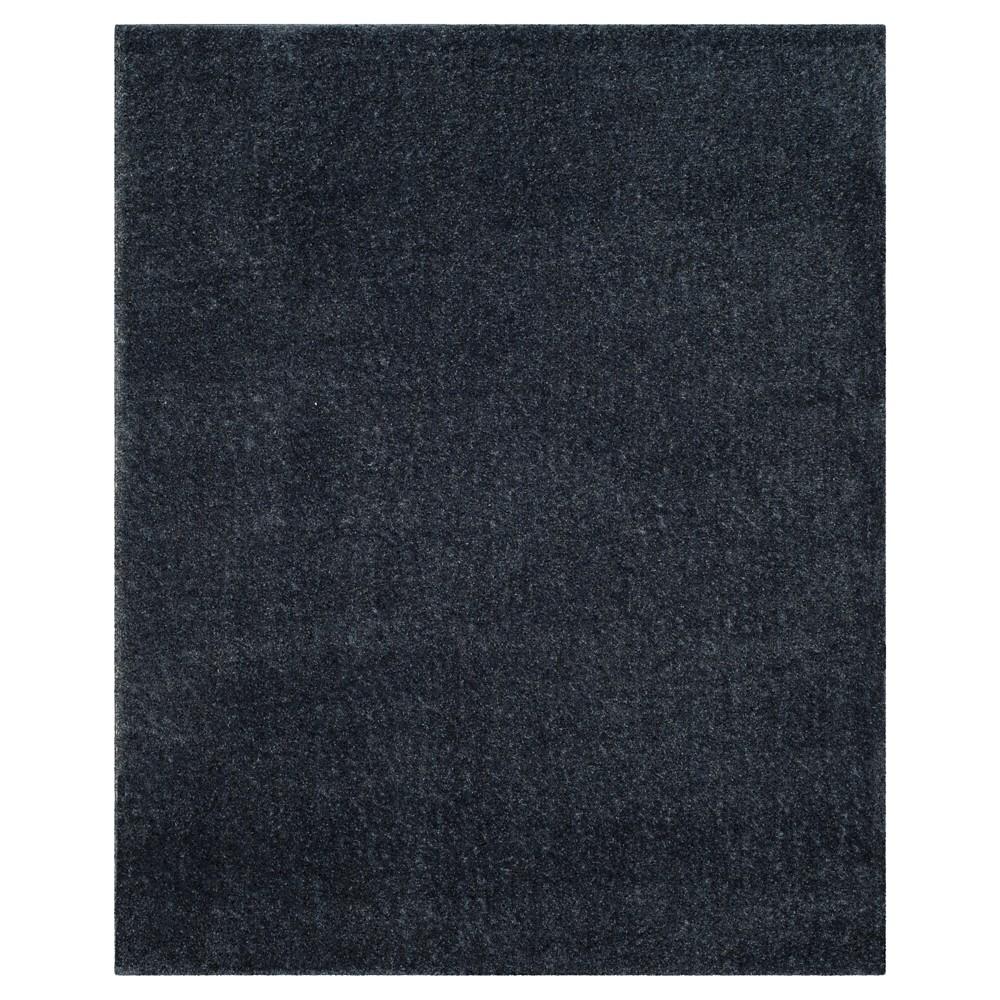 Blue Solid Loomed Area Rug - (8'X10') - Safavieh