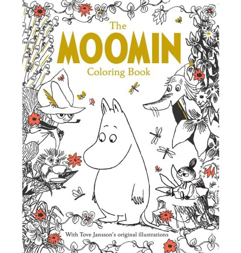 Moomin Coloring Book (Paperback) - image 1 of 1