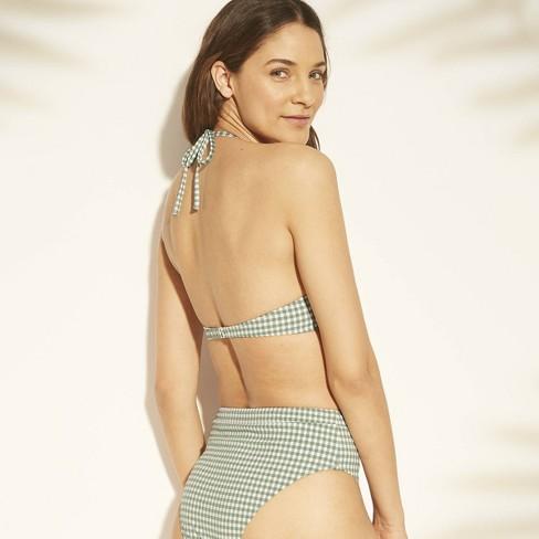 Bikini Tropics Push Triangle Up Seersucker Top Shade 9hewdyeib2 Women's CxBoWderQ