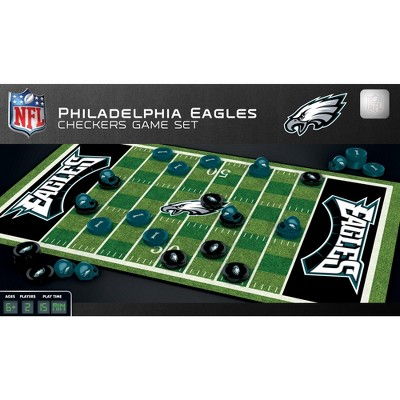 MasterPieces NFL Philadelphia Eagles Checkers Board Game