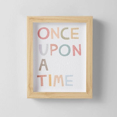 Once Upon A Time Wall Art - Pillowfort™