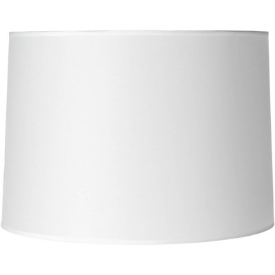 Brentwood Hardback White Drum Paper Lamp Shade 15x16x11 (Spider)