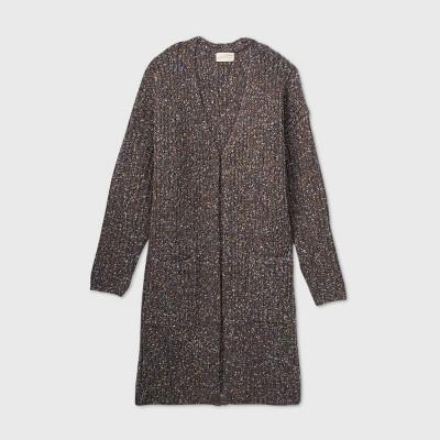 Women's Cozy Duster Cardigan - Universal Thread™ Gray XS