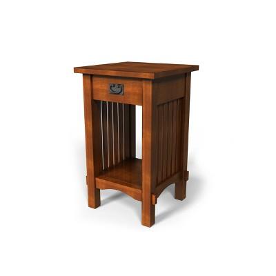 Berguin End Table Oak - HOMES: Inside + Out