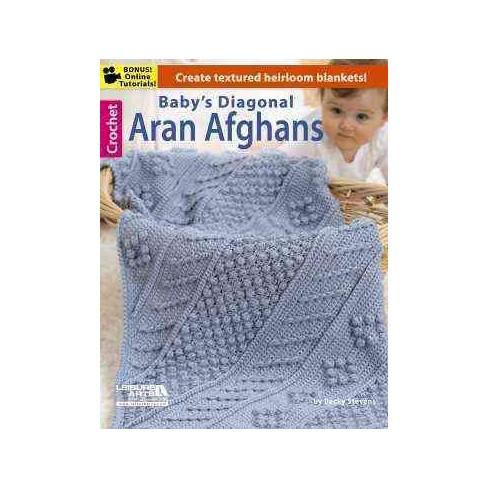 258d190197df Baby s Diagonal Aran Afghans (Paperback)   Target