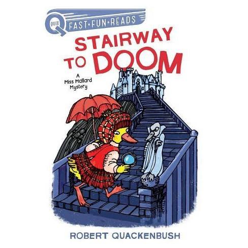 Stairway to Doom - (Quix) by  Robert Quackenbush (Paperback) - image 1 of 1
