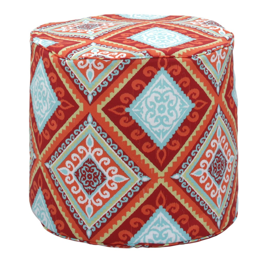 Indoor Outdoor Ottoman Spanish Tile Gold Medal Bean Bags