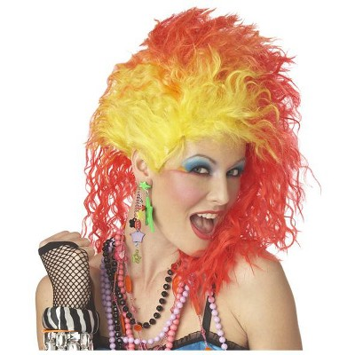 California Costumes True Colors Costume Wig (Red/Yellow)