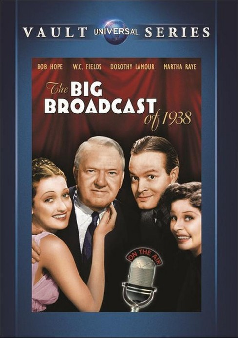 Big Broadcast Of 1938 (DVD) - image 1 of 1