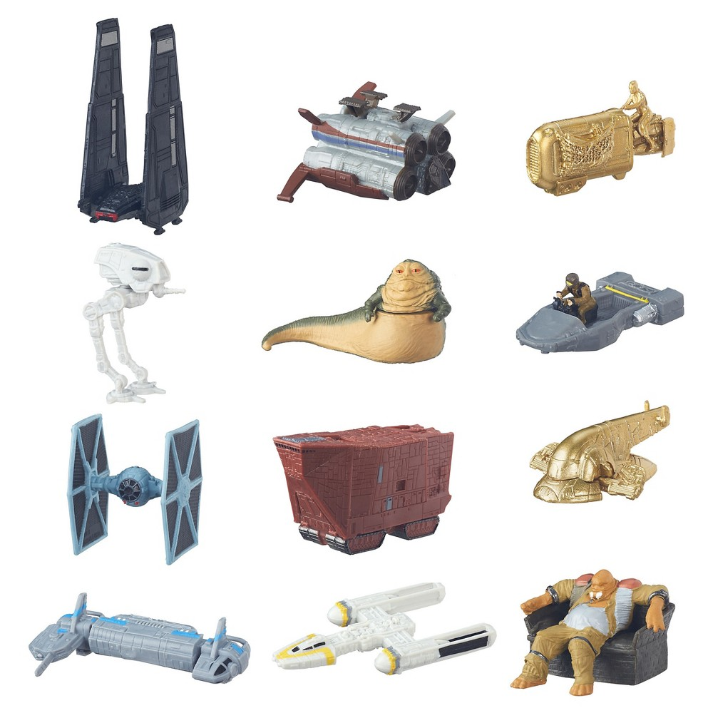 Star Wars Episode Vii Micro Machines Blind Bag Series 2, Multicolored