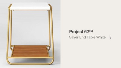 Sayer End Table White - Project 62™ : Target