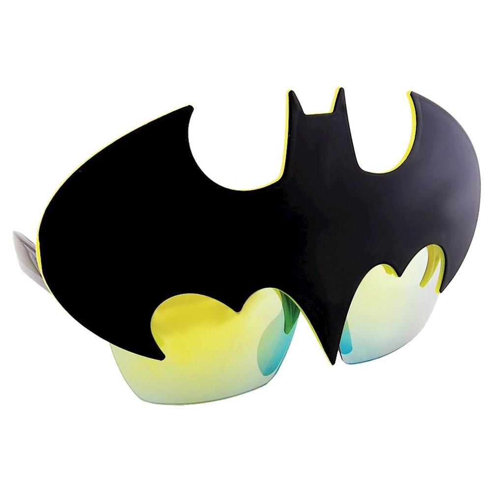Sunstache Batman Symbol Glass Black, Men's