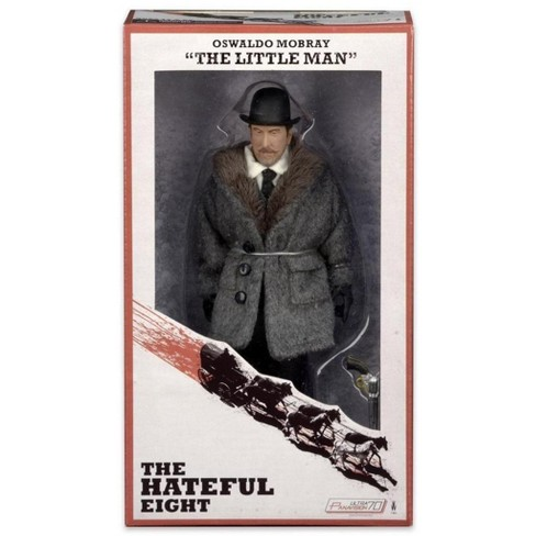 """The Hateful Eight Movie 8"""" Action Figure Oswaldo Mobray """" The Little Man"""" - image 1 of 3"""