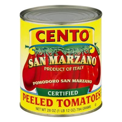 Cento San Marzano Peeled Tomatoes 28oz