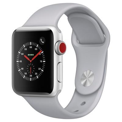 Apple® Watch Series 3 38mm (GPS + Cellular)Aluminum Case Sport Band - Fog