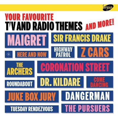 Various - Your Favourite TV and Radio Themes and More (CD)