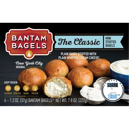 Bantam Bagels The Classic New York City Original Frozen Mini Stuffed Bagles - 7.8oz/6ct - image 1 of 4