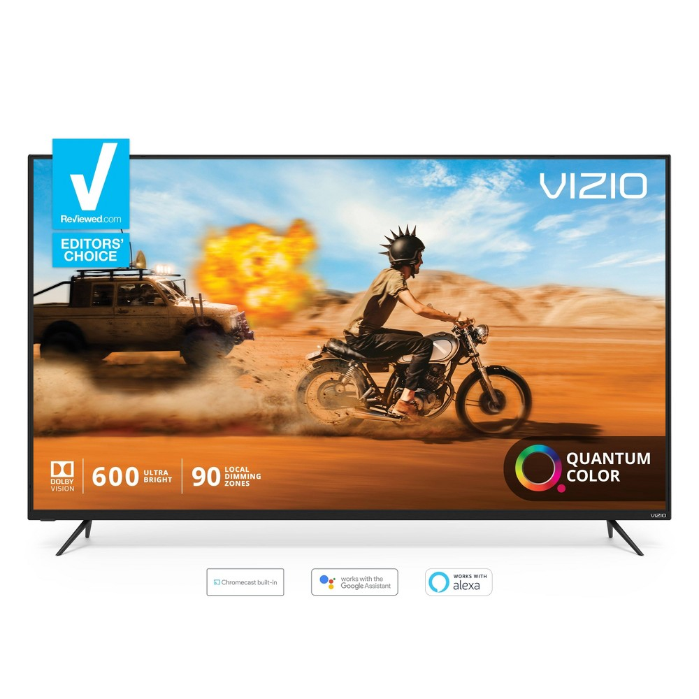 Vizio M-Series Quantum 65  Class (64.5  diag.) 4K Hdr Smart TV Experience a world of extraordinary color with the all-new Vizio M-Series Quantum 65  Class (64.5  diag.) 4K Hdr Smart TV, featuring VIZIO's cutting-edge Quantum Color and award-winning SmartCast 3.0.
