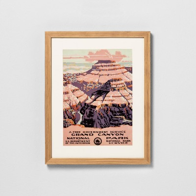 12  x 15  Grand Canyon Framed Wall Art - Hearth & Hand™ with Magnolia