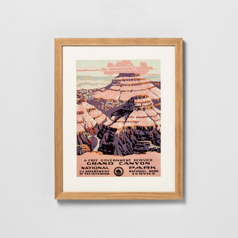 Grand Canyon Wall Art - Hearth & Hand™ with Magnolia - image 1 of 3