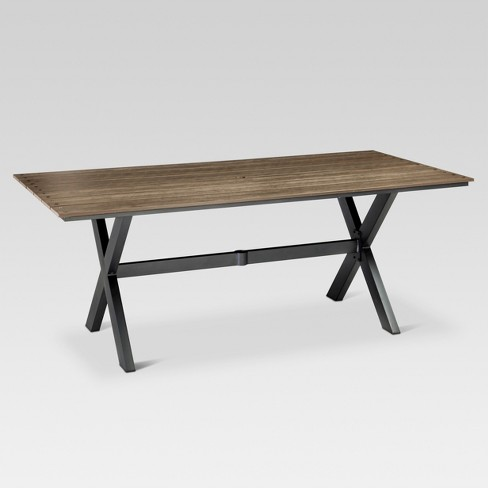 View Photos Play Threshold Heatherstone Rectangle Dining Table