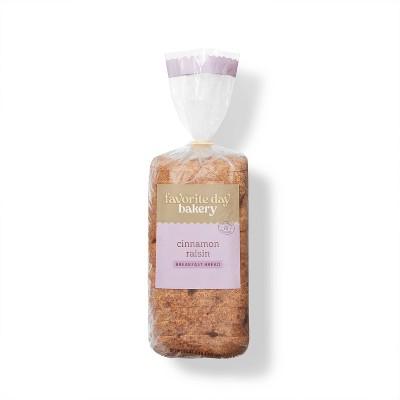 Cinnamon Raisin Breakfast Bread - 20oz - Favorite Day™