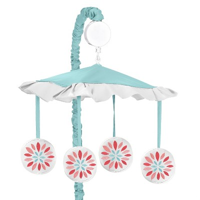 Sweet Jojo Designs Emma Musical Mobile - Coral