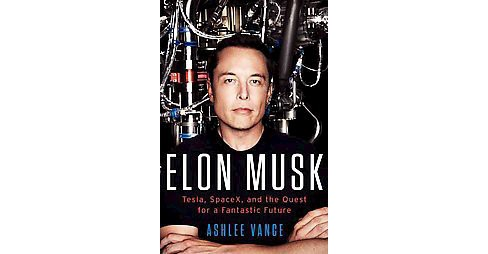 Elon Musk : Tesla, SpaceX, and the Quest for a Fantastic Future (Hardcover) (Ashlee Vance) - image 1 of 1