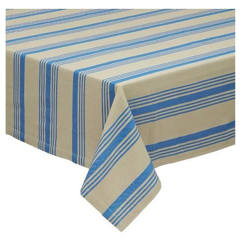 Sailor Stripe Tablecloth - Design Imports - image 1 of 4