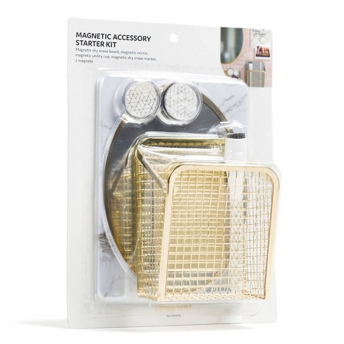 U-Brands Locker Accessory Kit - Gold - image 1 of 3