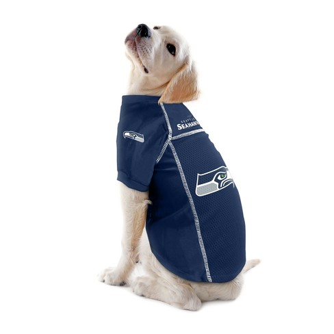 Seattle Seahawks Little Earth Pet Football Jersey - Navy XS   Target 064e80a1c