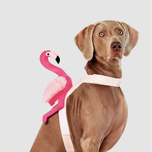 Flamingo Rider Halloween Dog and Cat Costume - Hyde & EEK! Boutique™ - image 1 of 3