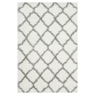 Indie Shag Rug - Ivory/Gray - (4'X6')- Safavieh