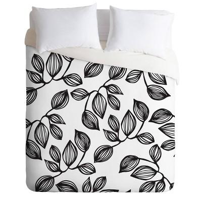 Julia Da Rocha The Leaves Comforter Set - Deny Designs