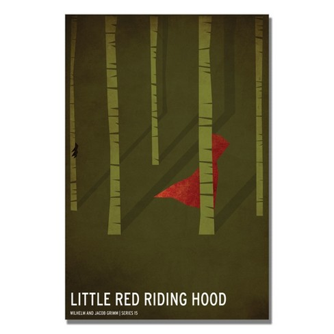 'Red Riding Hood' by Christian Jackson Ready to Hang Canvas Wall Art - image 1 of 3