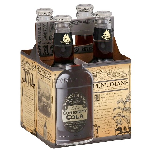 Fentimans Curiosity Cola - 4pk/9.3 fl oz Glass Bottles - image 1 of 1