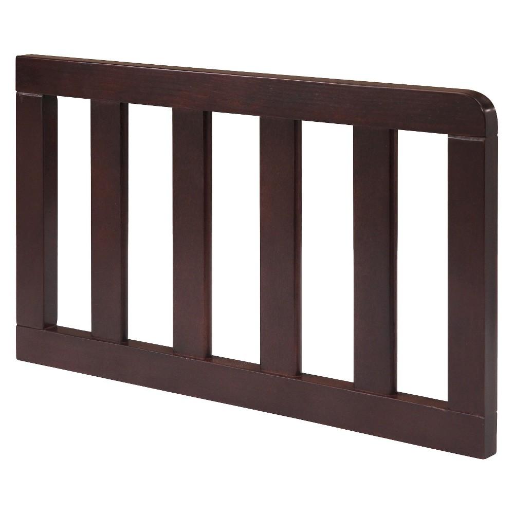 Delta Children Toddler Guardrail - Manhattan/Emery - Dark Chocolate