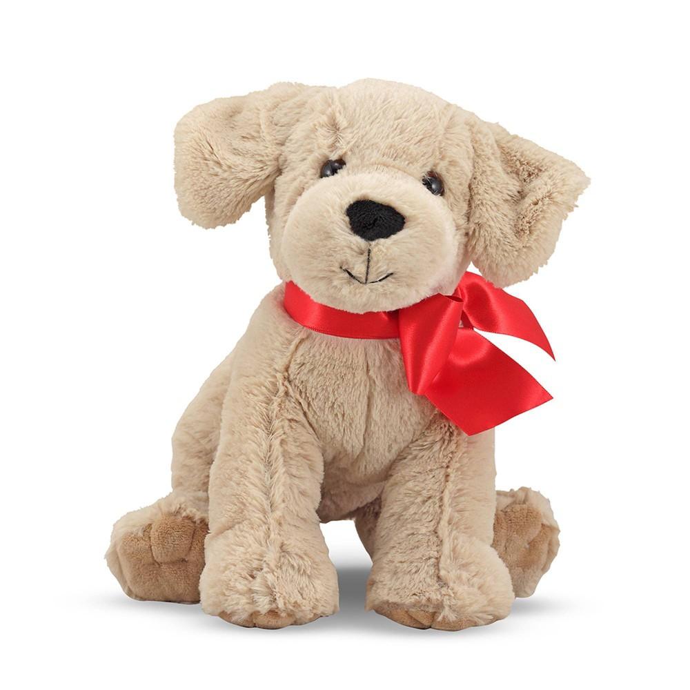 Melissa 38 Doug Sunny Yellow Lab Stuffed Animal Puppy Dog