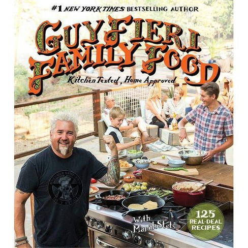 Guy Fieri Family Food - by  Guy Fieri & Marah Stets (Hardcover) - image 1 of 1