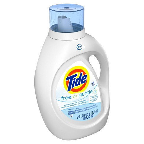 Tide Free and Gentle High Efficiency Liquid Laundry Detergent - 100 fl oz - image 1 of 3