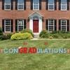 Big Dot of Happiness Nurse Graduation - Yard Sign Outdoor Lawn Decorations - 2021 Graduation Party Yard Signs - ConGRADulations - image 3 of 4