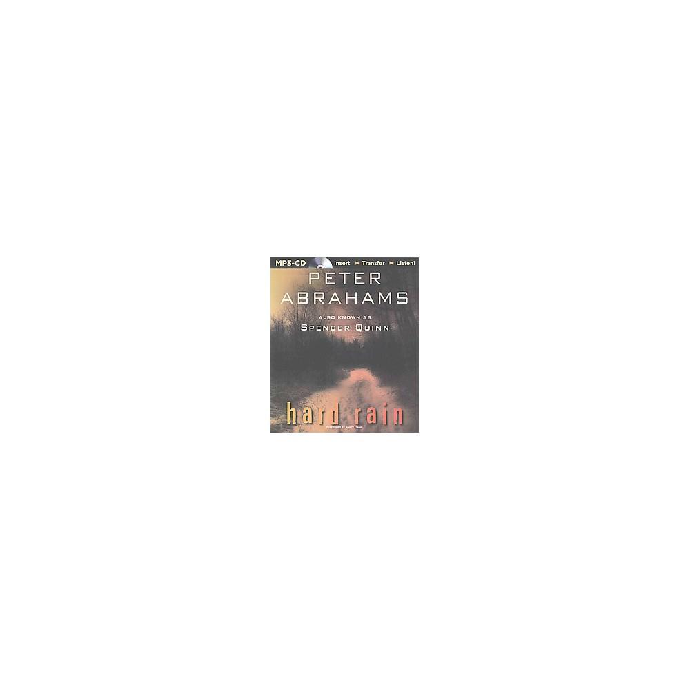 Hard Rain (Unabridged) (MP3-CD) (Peter Abrahams)