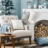 Faux Fur Christmas Stocking Cream - Wondershop™ - image 2 of 3