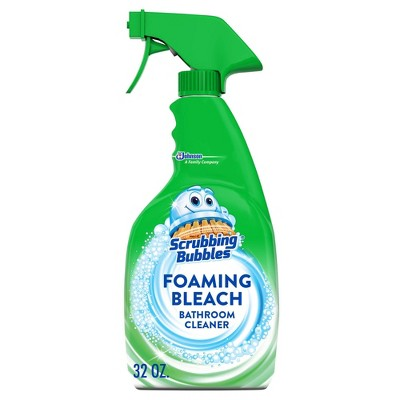 Scrubbing Bubbles Foaming Bleach Bathroom Cleaner - 32 fl oz