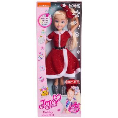 "JoJo Siwa 18"" Holiday Doll Limited Edition"