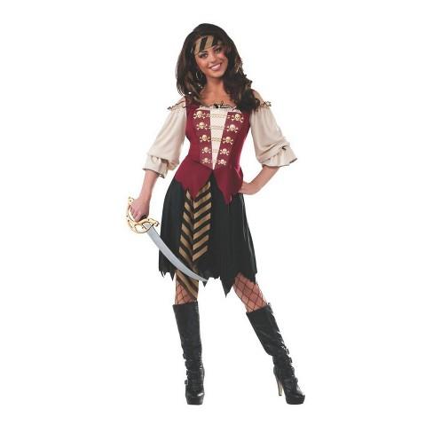 Women's Elegant Pirate Halloween Costume S - image 1 of 1